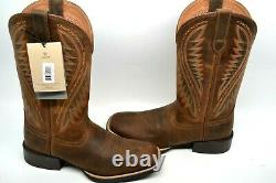 Ariat Men's Sport Stonewall Native DISTRESSED Brown Western Boots 10023145 9 D