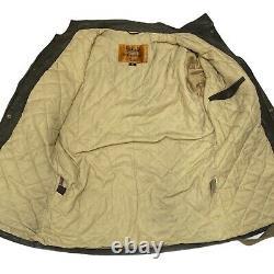 Belstaff BLASTER Trialmaster Black Prince Biker Coated Jacket Rare Medium M 40