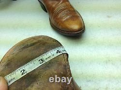 Distressed Vintage Rios Of Mercedes USA Brown Leather Engineer Boss Boots 10d
