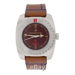 Enzo Mechana ACQUA 500m Handmade Automatic Dive Watch BROWN Dial. Limited edt