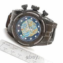 Invicta Mens Bolt Zeus LIMITED ED Swiss Made Chronograph Stone Distressed Watch
