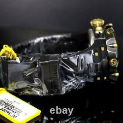 Invicta Reserve Venom Gen II Swiss Made Distressed Black Gold MOP 52mm Watch New