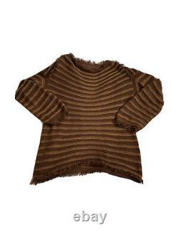 Issey miyake Distressed Hem Top/jumper
