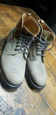 Joseph Cheaney & Sons Martin England Crazy Horse Distressed Leather Boots UK 8