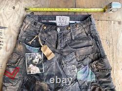 Marithe Francois Girbaud& Wrangler Cargo Pants CUSTOM 38x32