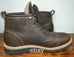 Mark Albert Boots Outrider Boot Waxy Distressed Size 7.5 D Mens Made in USA