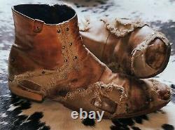 Mark Nason REMIX Dragon Rock Boots US9.5 Distressed Brown
