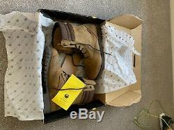 Merlin Drax Boot Urban Style Distressed Brown Waterproof Motorcycle Boots New