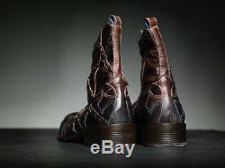 NEW! Mark Nason FALCON Dragon Rock Boots US 10 Distressed Brown