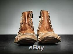 NEW! Mark Nason REMIX Dragon Rock Boots US9 Distressed Brown