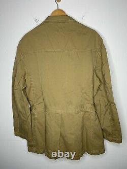 New RRL Ralph Lauren X-Large Hunting Jacket Polo Moto VTG Military Safari Rugby