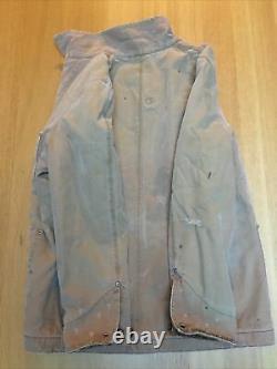 New Ralph Lauren RRL Mens S-M 44in Indian Aztec Distressed American Chore Jacket