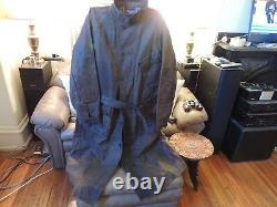 RALPH LAUREN Distressed MOTO TRENCH OILED LEATHER SZ XL MSRP 3199.00
