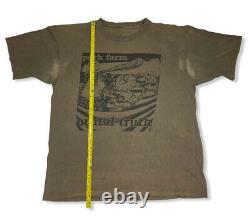 RARE VTG Brutal Truth Shirt XL Grindcore 1997 Nuclear Ass. Napalm Death Metal