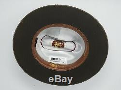Stetson Royal Deluxe 1865 Distressed Open Road Fur Felt Western Hat