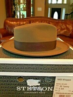 Stetson Whippet Distressed Tawny 7 Great Fedora