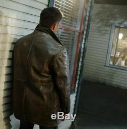 Supernatural Dean Winchester Wilsons Leather Distressed Coat Jacket