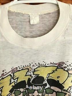 True Vintage ZZ Top T Shirt El Loco 1981 Concert Holes Distressed Butter Soft