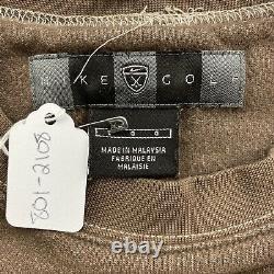 Vintage Nike Golf Brown Crewneck Sweatshirt Mens Large