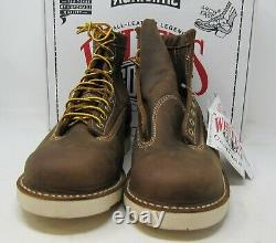 White's Boots, ForemanLTTST-CC. Dark Brown Distressed, 10 D, 6. Crepe sole