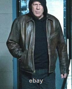 $1800 Rrl Ralph Lauren Large Morrow Distressed Brown Leather Jacket $1800 Rrl Ralph Lauren Large Morrow Distressed Brown Leather Jacket $1800 Rrl Ralph Lauren Large Morrow Distressed Brown Leather Jacket $