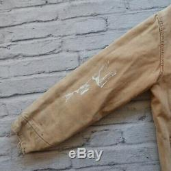 90 Vintage Carhartt Distressed Matelassée Doublé Corvée Veste M L Made In USA Wip