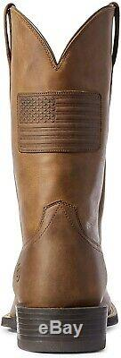 Ariat 244081 Hommes Sport Patriot II Western Bottes Distressed Taille Tan 10,5 D