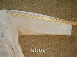 Distressed Vintage 80's 90's Carhartt Blanket Lined Trucker Jacket Coat 44 États-unis