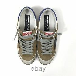 Golden Goose Superstar Distressed Suede And Leather Brown Sneakers Taille 42