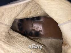 Guidi Gris Suede Distressed Bottes En Cuir À Lacets 44 10 11 A1923