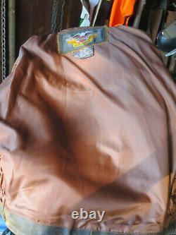 Harley Davidson Billings Brown Leather Jacket Mens Large Lnwot