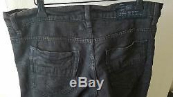 Julius 7 Destroy Détresse Jeans Délavé Dusty Brown Taille 3