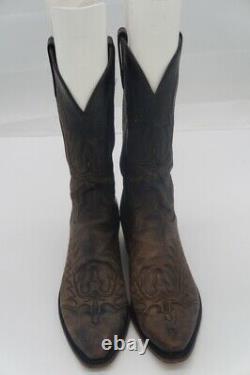 Lucchese 1883 Hommes Naturellement Stressés Cowboy Bottes Taille 9.5 D