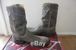 Lucchese Bottes Hommes M2650 Brent Western New Taille 10 Distressed Chocolate Casual