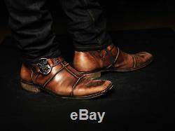Mark Nason Bottes En Cuir Rock Us8.5 Distressed Brown Cognac Braybrook (by)
