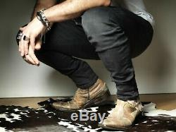 Mark Nason Corkman Patchwork Rock Bottes Us10 Distressed Tan (bn)
