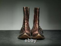 Mark Nason Skidway Rust Dragon Rock Boots Us 9.5 Cuivre En Détresse (cq)