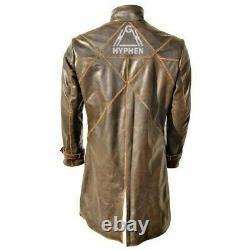 Montres Chien Aiden Pearce Trench Coat Watch Chien Hommes Marron Trench Distrait Coat