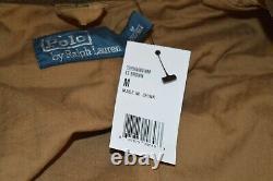 Nouveau $ 398 Polo Ralph Lauren Chasse Classique / Utilitaire / Veste De Pêche Marron / Tan