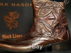 Nouveau! Mark Nason Amberoom Dragon Rock Bottes Us 9 Distressed Brown