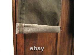 Polo Ralph Lauren Double Rl Rrl Olive Low Straight Jeans Selvedge Japonais $365+