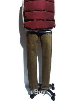 Polo Ralph Lauren Double Rrl Slim Fit Rl Japonais Surpiqué Jeans Olive 360 $ +