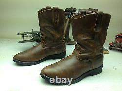 Red Wing Détressed Brown Cuir USA Engineer Bottes À Huile Rig 13 D
