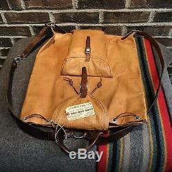 Reederang Vintage 1960 Polonais Made Distressed Sac A Dos Sac R 1198 Sac A Dos $