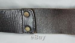 Rrl Ralph Lauren Double Rl Vintage Distressed Italie Ring O Brown Ceinture En Cuir 28