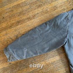 Vintage Carhartt J97 Brown Men XL Distressed Sandstone Detroit Lined Jacket États-unis