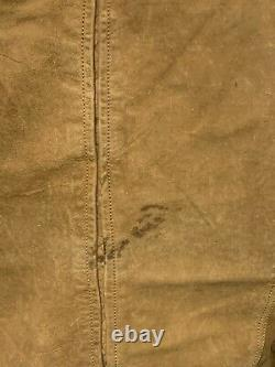 Vintage Diesel Distressed Leather Motorcycle Jacket Taille 2xl Ace Patina